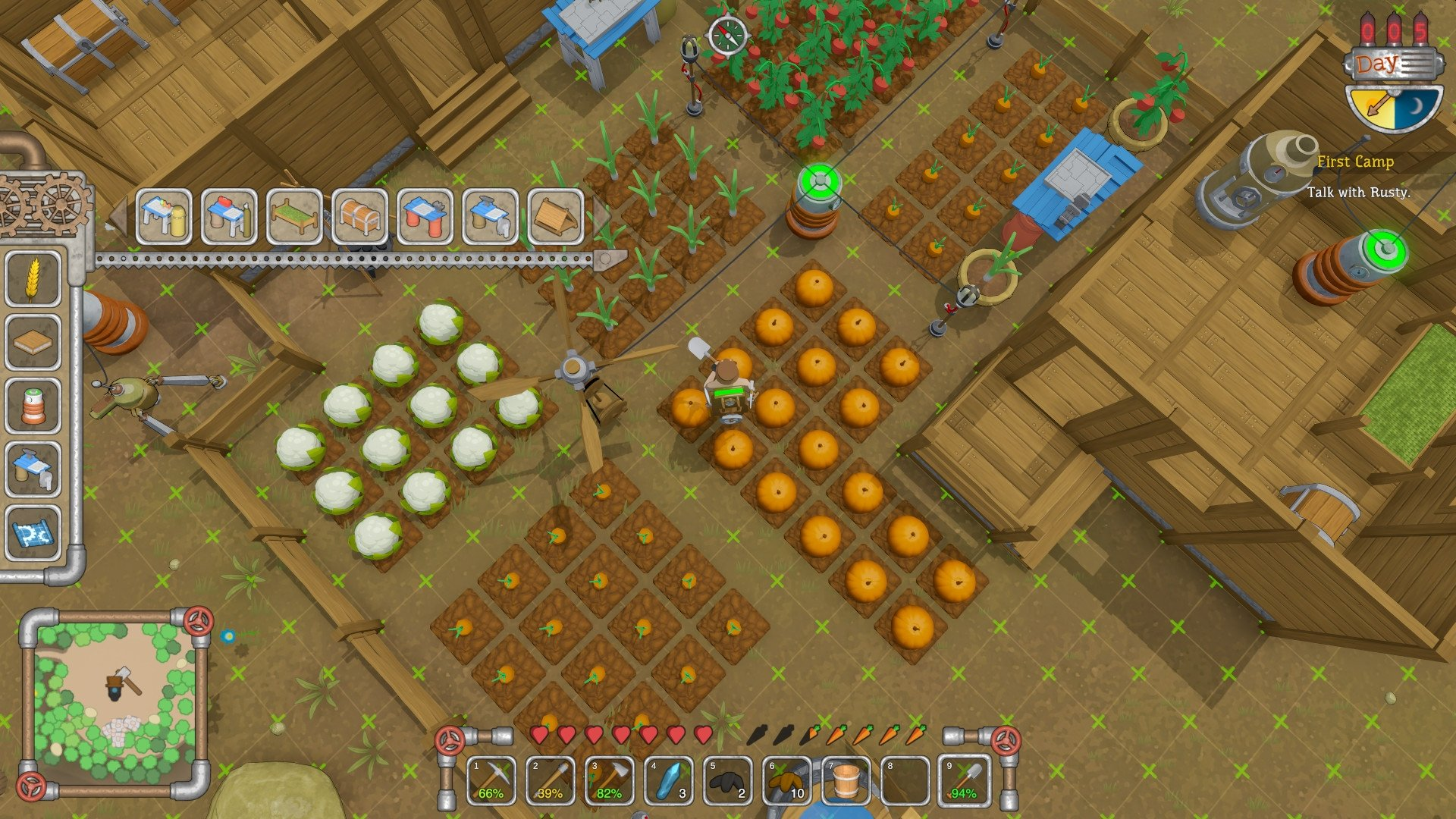 Scrapnaut Is An Upcoming Steampunk Open World Survival Game For PC