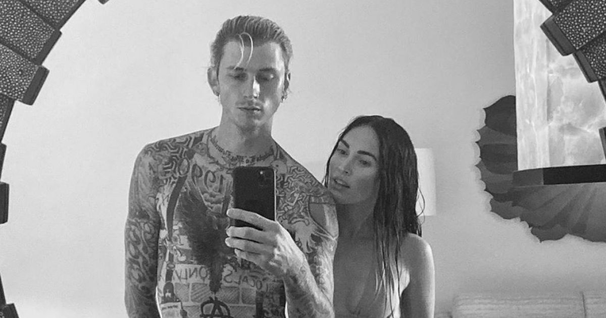 Megan Fox Tells MGK 'My Heart Is Yours' in Steamy New Snap