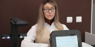 An uncanny humanoid robot is working at a government office in Russia — here's how it works