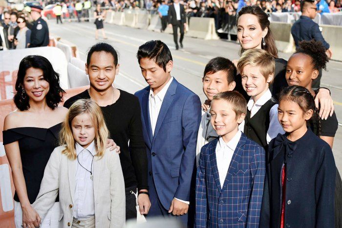 Angelina Jolie and Kids at TIFF 2017 Brad Pitt Lawyers Claim Angelina Jolie Has Deprived Their Kids of a Final Resolution in Custody Trial