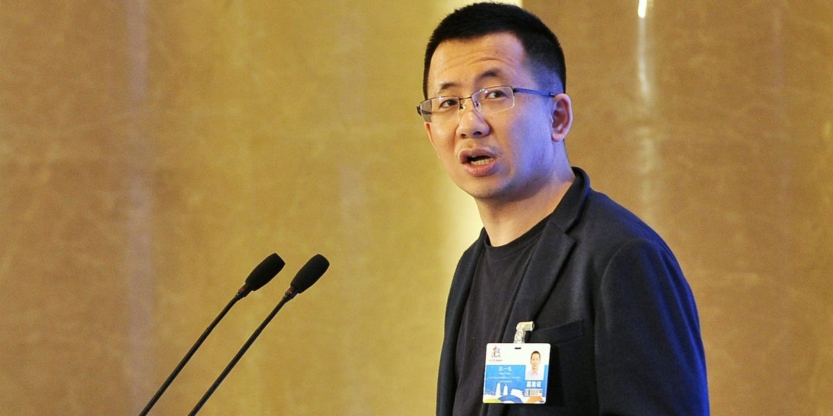 Critics in China reportedly called ByteDance CEO Zhang Yiming an 'American apologist' as talk of Microsoft's potential TikTok acquisition picks up steam