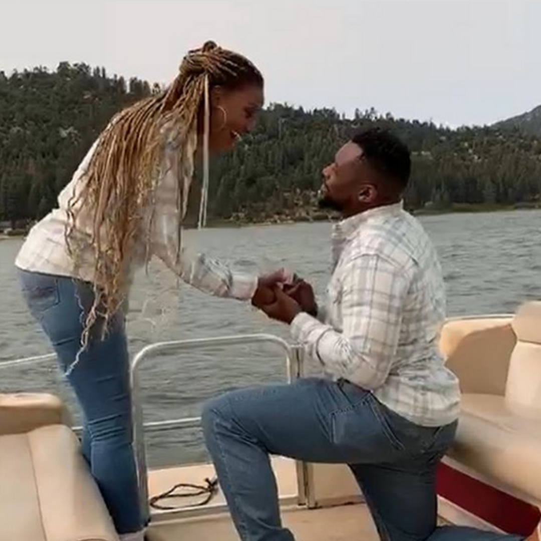 The Bachelorette's Kenny King Is Engaged to Girlfriend London Ferris