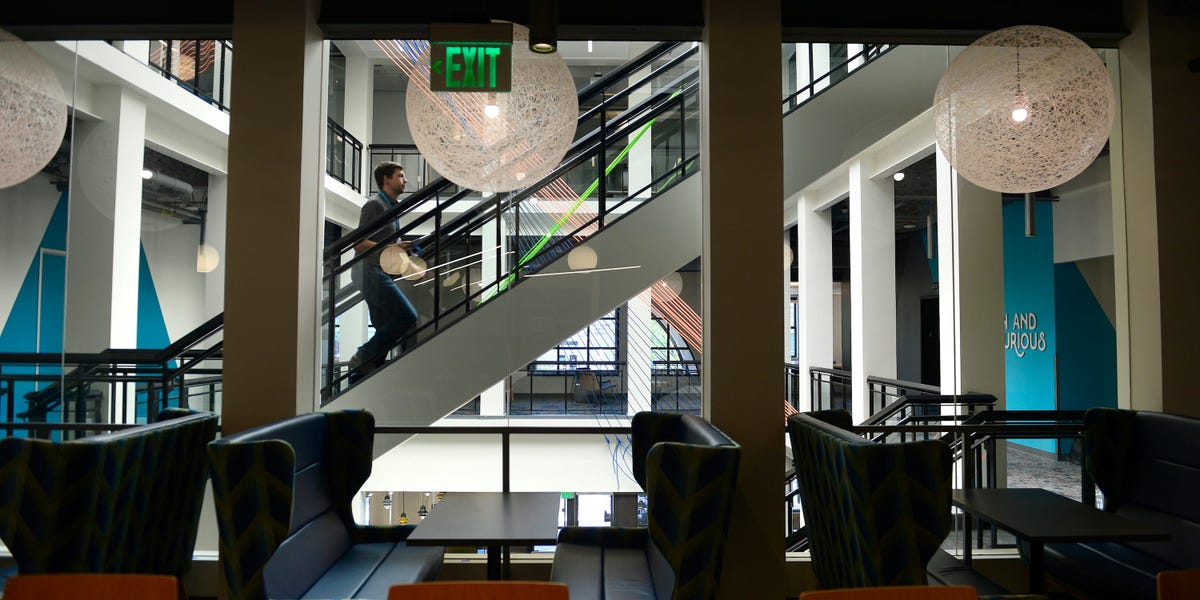 Silicon Valley's workforce is falling out of love with massive tech campuses. Experts predict what will take its place are networks of satellite offices.