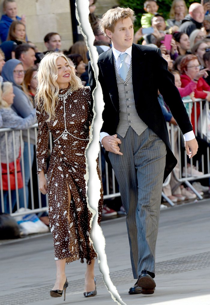 Sienna Miller Splits From Fiance Lucas Zwirner After Over 1 Year Together