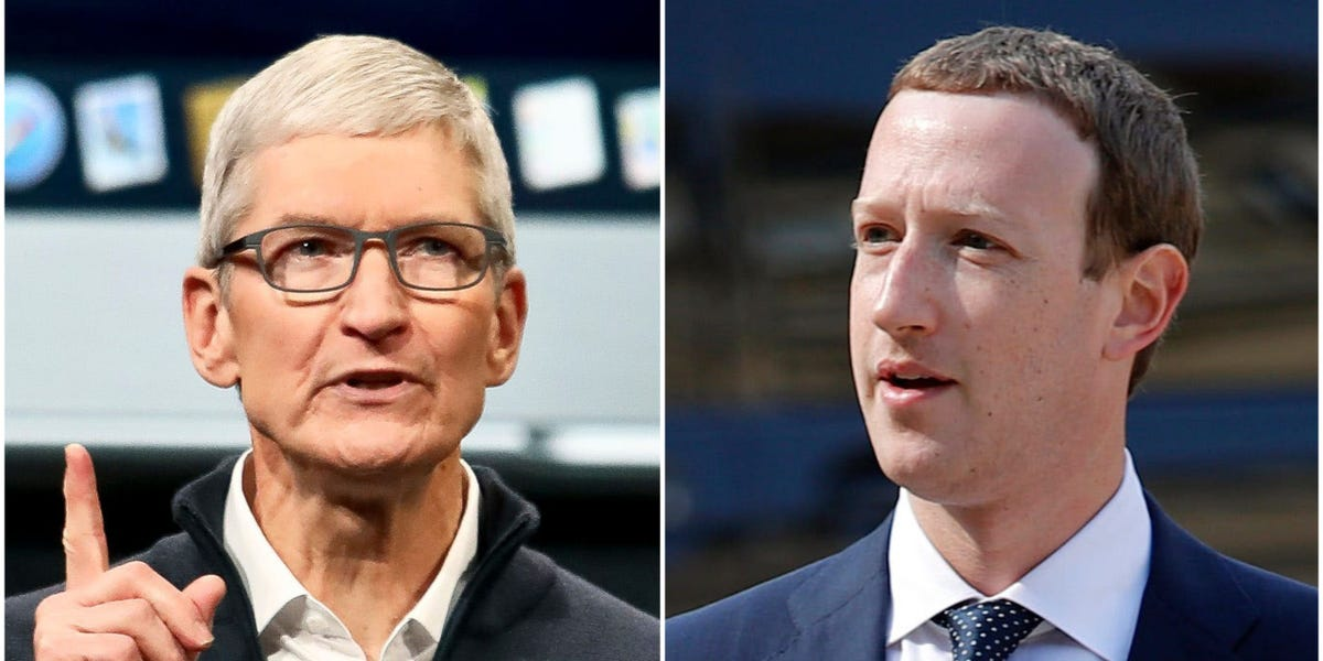 Apple is temporarily scrapping its controversial 30% App Store fee for Facebook's new online events feature (AAPL, FB)