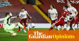 Liverpool overwhelm Arsenal in familiar glimpse of football's old times | Barney Ronay