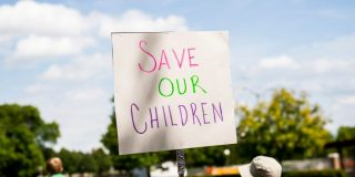 Facebook says it will limit the use of the 'Save our Children' hashtag, but not 'Save the Children,' after QAnon co-opted the anti-trafficking movement
