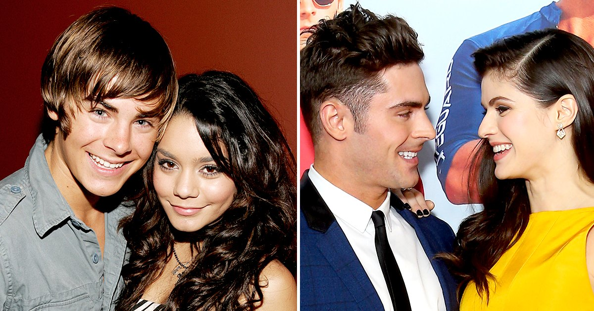 Zac Efron's Dating History: Vanessa Hudgens and More
