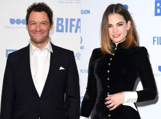 Lily James And Dominic West Possibly In Trouble With The Law After PDA In Rome – Details!