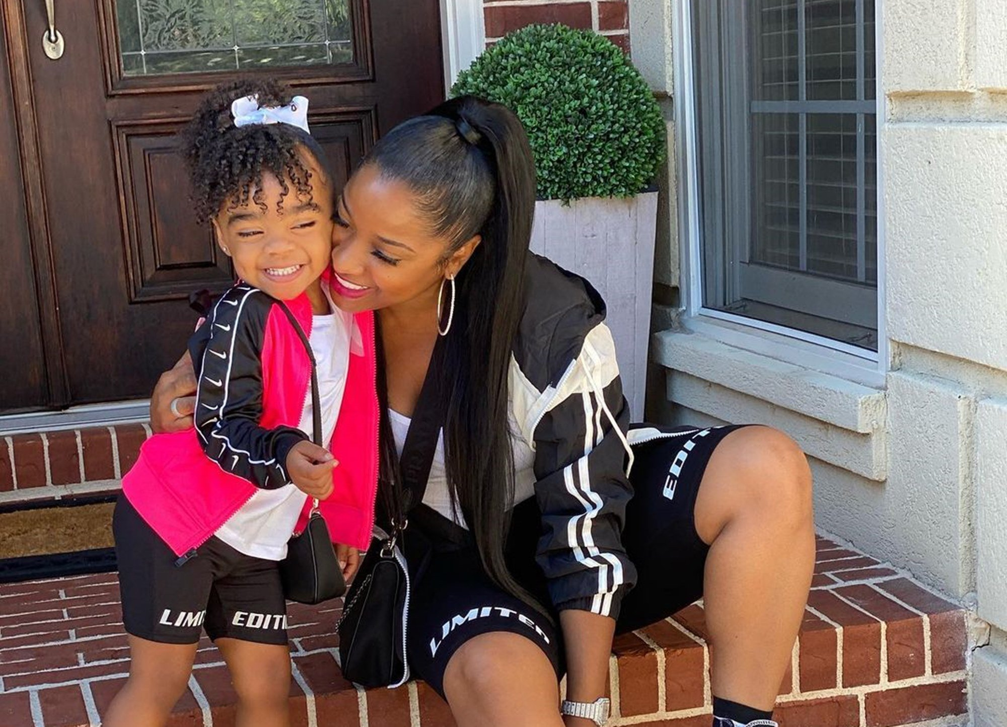 Toya Johnson Posts Cute Photos With Daughter Reign Rushing — Fans Defend Duo After Critics Slammed Child's Looks