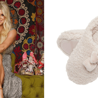 These 'Marshmallow' Jessica Simpson House Slippers Are So Plush