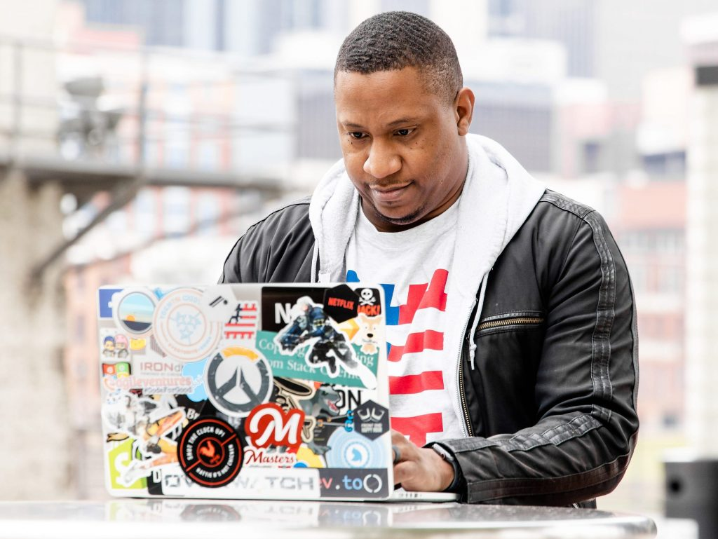 Jerome Hardaway, founder of Vets Who Code and Air Force veteran