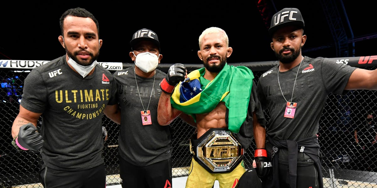 How to watch UFC 255: Figueiredo and Perez face off in a flyweight championship match