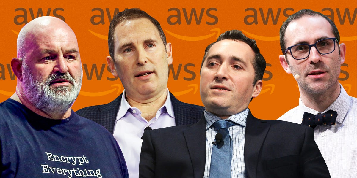 AWS ORG CHART: The 95 most powerful executives under Amazon's cloud boss Andy Jassy (AMZN)