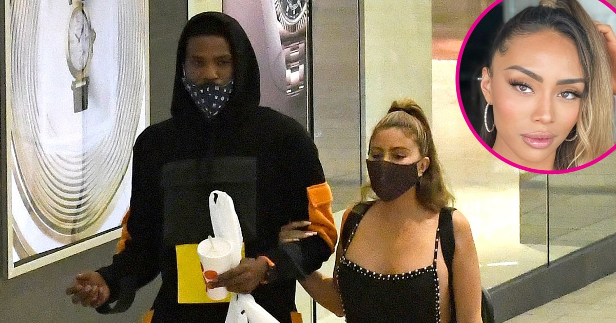 NBA Star Malik Beasley's Wife Reacts to Him, Larsa Pippen Holding Hands