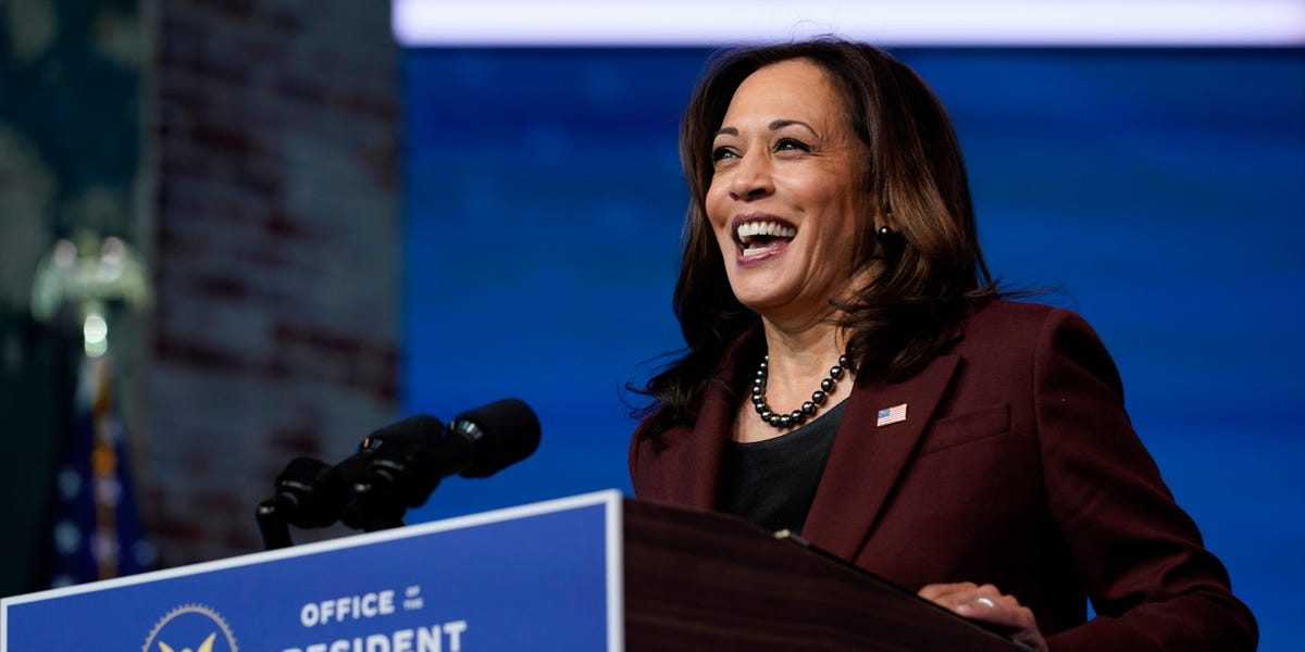Kamala Harris is staffing up with veteran Washington insiders in advance of being sworn in as the country's first woman vice president. Meet her first White House hires.