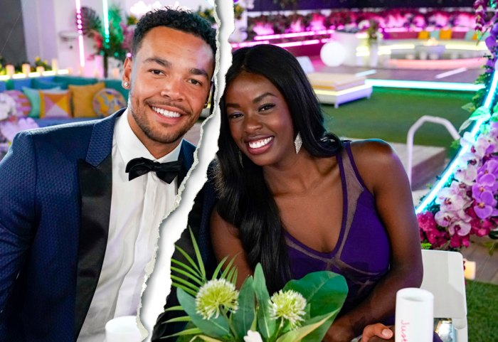 'Love Island' Winners Justine Ndiba and Caleb Corprew Split