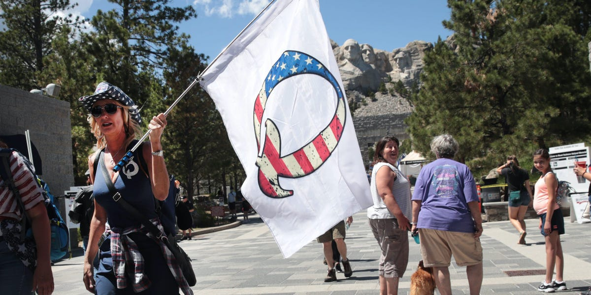 30% of Republicans have 'favorable' view of QAnon conspiracy theory, YouGov poll finds