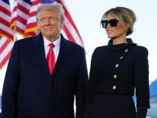 Watch President Donald Trump And Melania Trump Give A Farewell Speech To America
