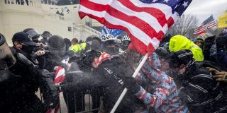Far-right police officers have been serving all along — the Capitol riot just pointed them out