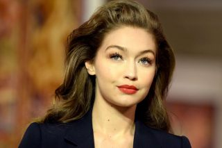 Gigi Hadid Posts Adorable New Pic Of Baby Khai In A Personalized Pink Snowsuit!