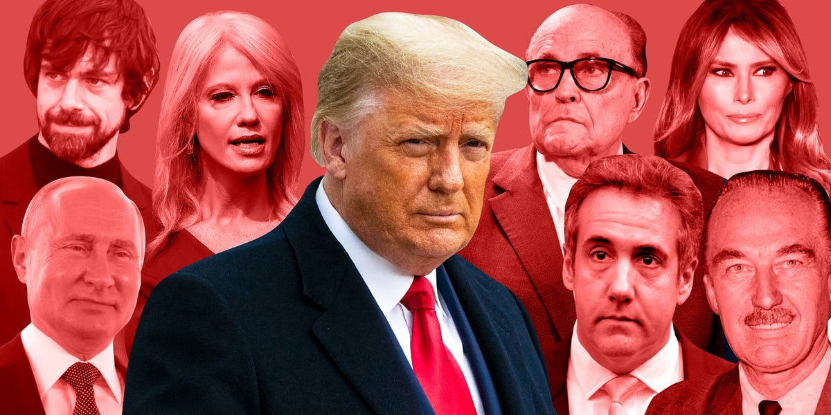 We identified the 125 people and institutions most responsible for Donald Trump's rise to power and his norm-busting behavior that tested the boundaries of the US government and its institutions