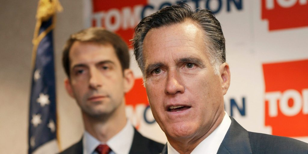 mitt romney tom cotton