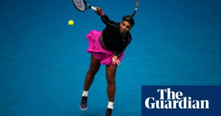 Serena Williams claims Australian Open delay has helped with achilles recovery