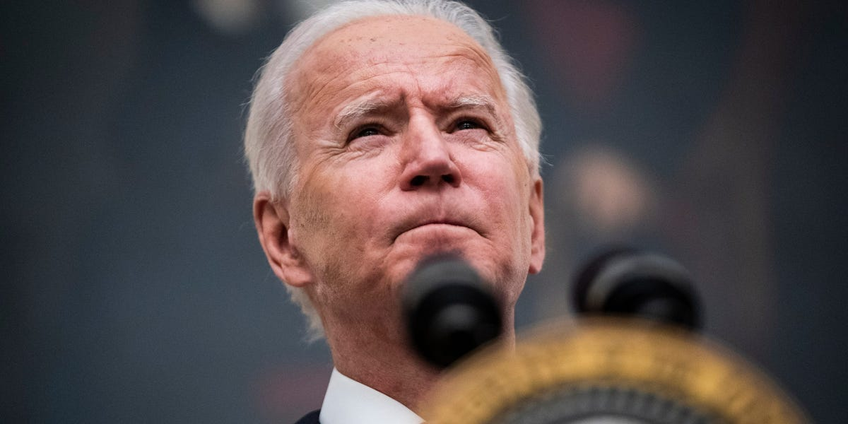 Biden could agree to a 25% corporate tax rate as a compromise with business groups, rather than the 28% he wanted, according to a report