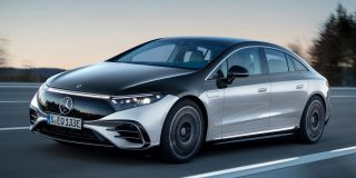 Mercedes-Benz unveils its first EV for the US, the luxurious EQS sedan with a 478-mile range and screens galore
