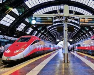"""Italy launched the first """"COVID-free"""" passenger train."""