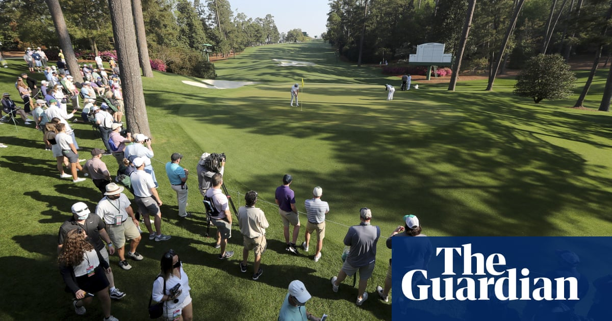 Fiery fairways at Augusta National to provide major test at Masters | Ewan Murray