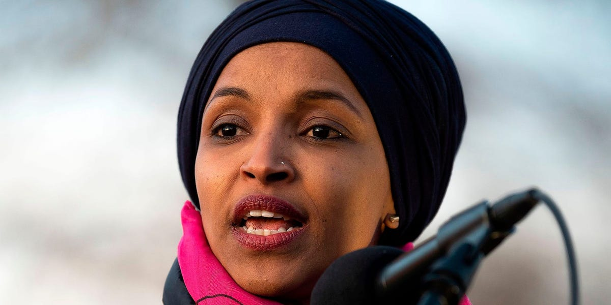 Rep. Ilhan Omar slams Biden's 'shameful' plan to restart construction on Trump's 'xenophobic and racist' wall
