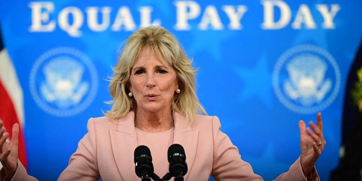 Jill Biden is only the 3rd US first lady to be a union member. Here's why that matters.