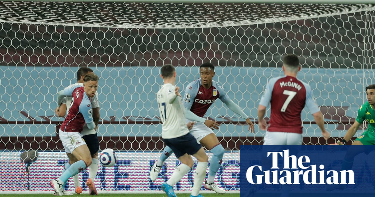 Foden leads Man City to win at Aston Villa despite red card for Stones